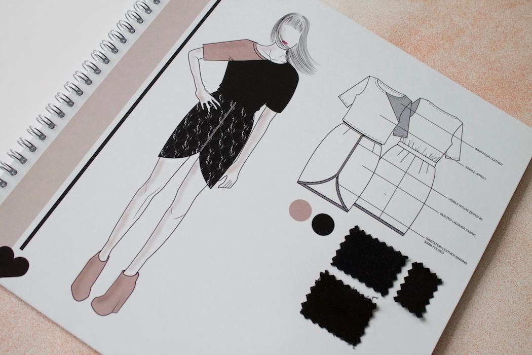 Joyce van der Woude - Girl About Town - Stylesheet dress