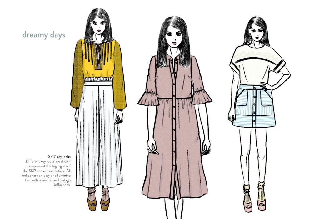 Joyce van der Woude - dreamy days - key looks